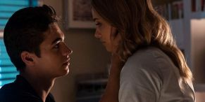 After We Collided Stars Josephine Langford And Hero Fiennes Tiffin Share Sweet Moment As Two Sequels Wrap Production