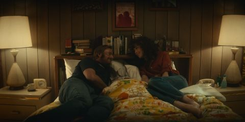 Rose Byrne and Rory Scovel in Physical Episode 4