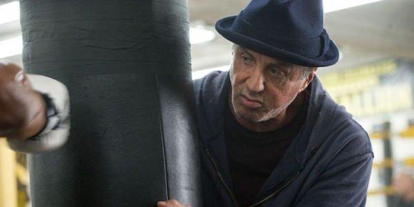 Sylvester Stallone boxing