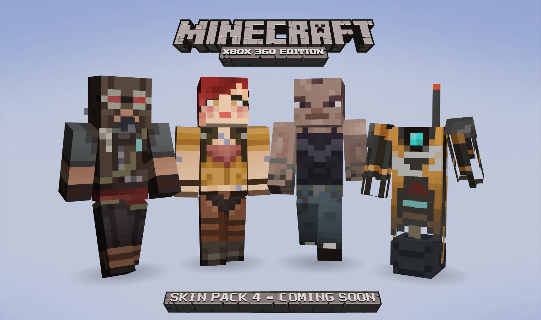 Minecraft Xbox/Playstation Skin Packs