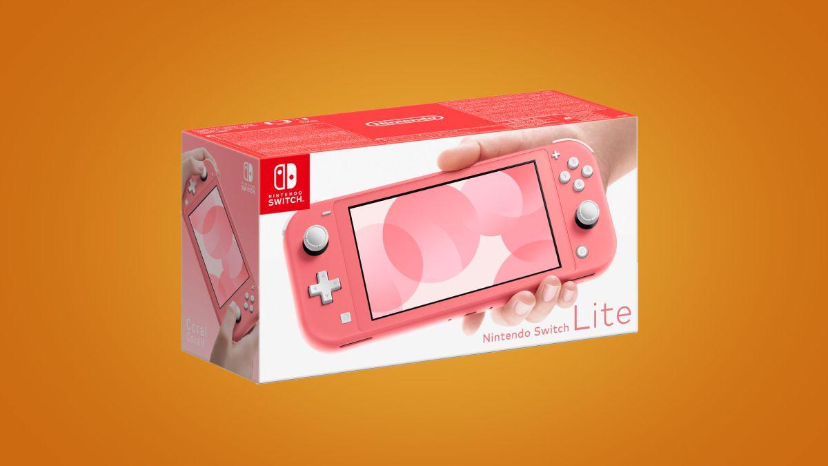 Nintendo Switch Lite släpps i en ny korallfärg