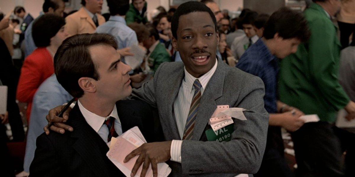 Dan Aykroyd and Eddie Murphy in Trading Places