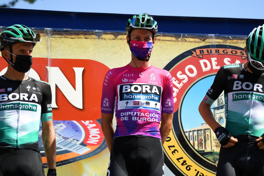 Race leader Felix Großschartner Vuelta a Burgos