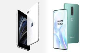 iPhone SE 2020 und OnePlus 8 im Vergleich