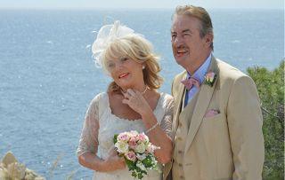 Benidorm wedding disaster! Sherrie Hewson and John Challis on Joyce and Monty's big day
