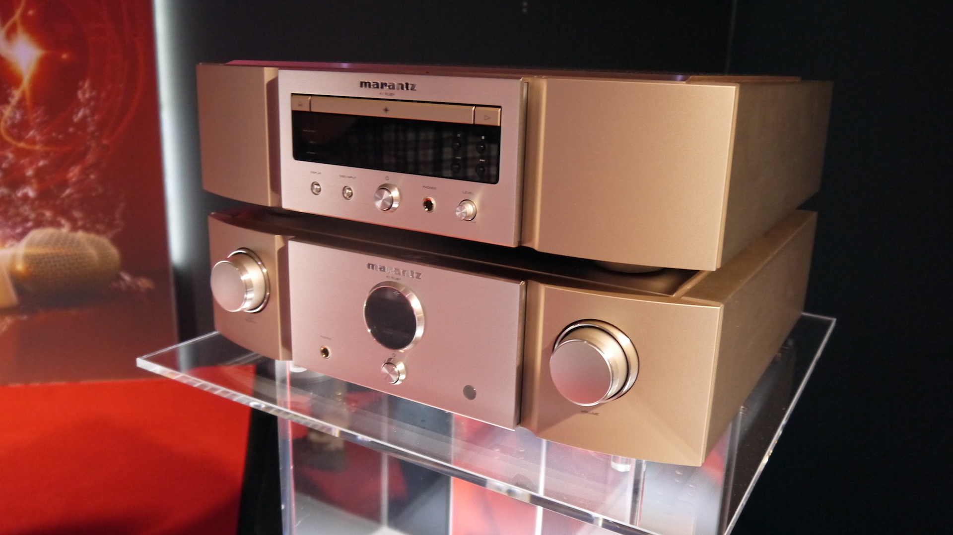 Marantz KI Ruby is a luxury CD player and amp for the most demanding