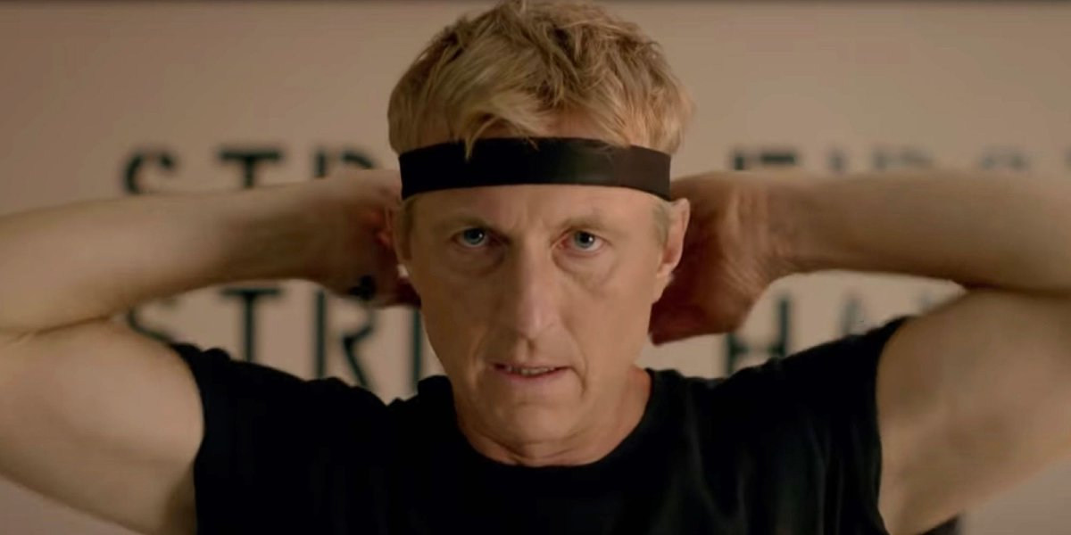 William Zabka on Cobra Kai
