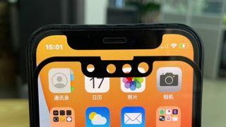 alleged iphone 13 notch vs iphone 12