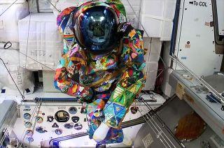 space suit art project unity
