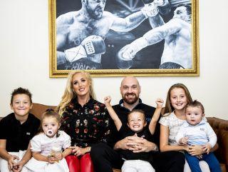 Tyson, wife Paris and five kids Tyson Fury: The Gypsy King