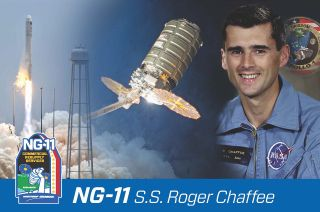 Northrop Grumman has named its NG-11 Cygnus spacecraft after Apollo 1 astronaut Roger B. Chaffee. It is the company's tradition to christen each of its Cygnus spacecraft after an individual who has made a significant impact on the aerospace industry.