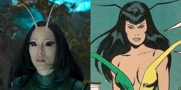Other than a couple of minor alterations, Pom Klementieff as Mantis is perfect casting
