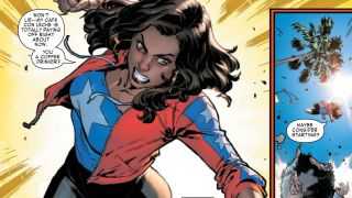 The one-time Ms. America gets a new origin story ahead of her MCU debut