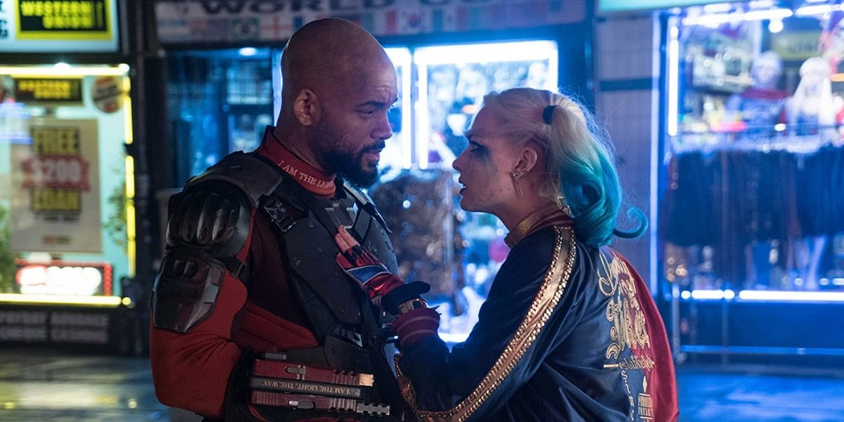 Deadshot and Harley in Suicide Squad