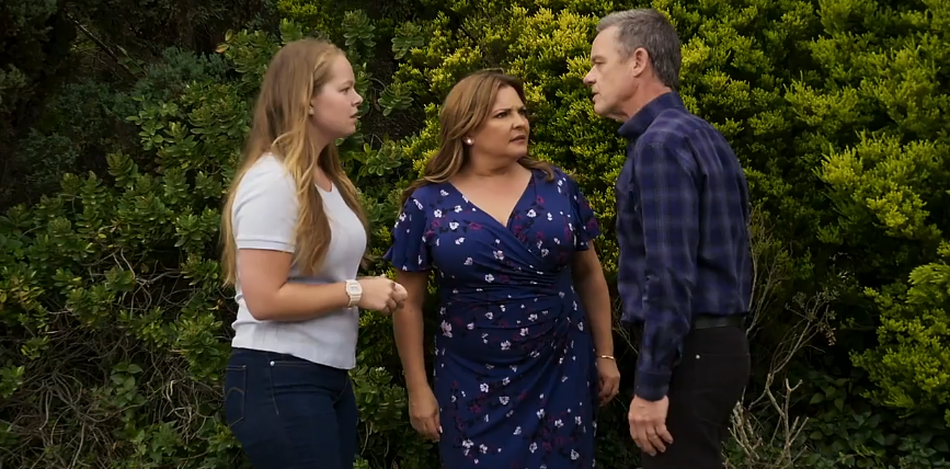 Neighbours, Harlow Robinson, Terese Willis, Paul Robinson