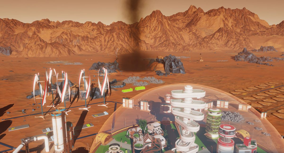 Rain down asteroids and control gravity with this cheat-enabling Surviving Mars mod