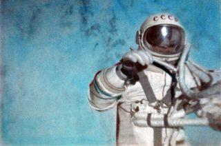 First Spacewalk by Leonov