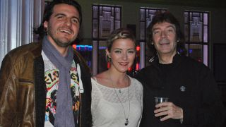 Franck Carducci, Mary Reynaud and Steve Hackett