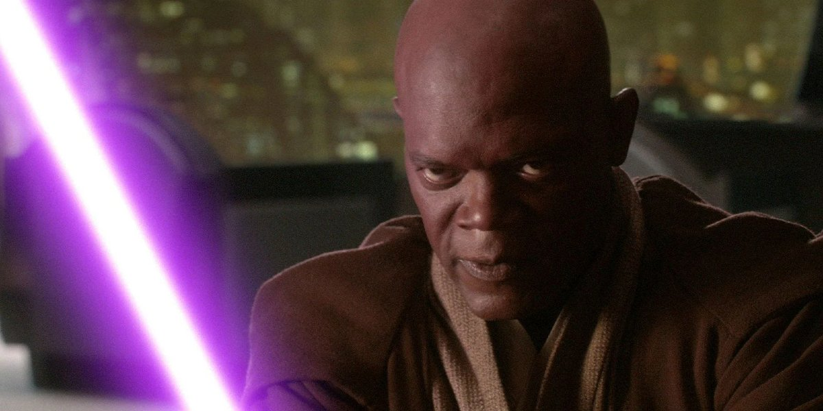 Samuel L. Jackson in Star Wars: Episode III - Revenge of the Sith