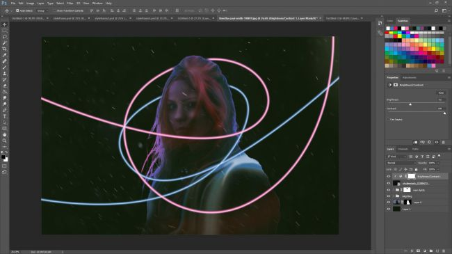 Photoshop tutorials: style frames