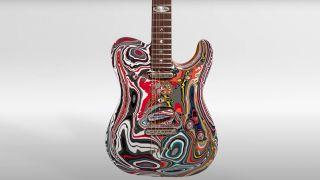 Warrior Guitar Fordite