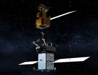 Robotic satellite servicing spacecraft, like NASA's planned Restore-L vehicle scheduled to refuel the Landsat 7 satellite in 2020, can extend the mission life of satellites in orbit today.