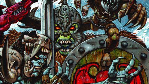 Cover art for GWAR - The Blood Of Gods album