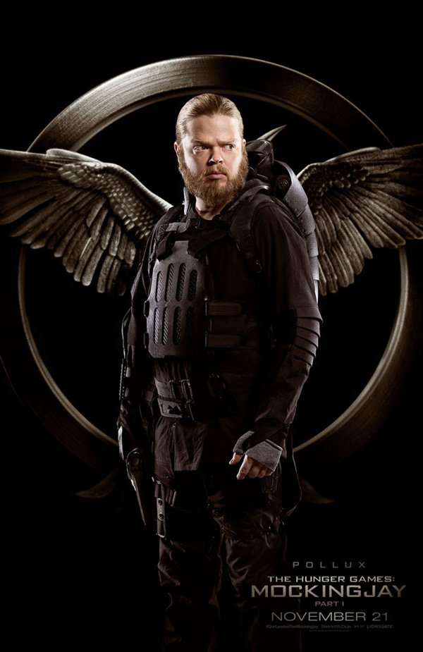 The Hunger Games Mockingjay Part 1 Pollux Poster