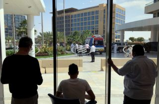 Riders and staff of the UAE Tour remain in quarantine in their hotel