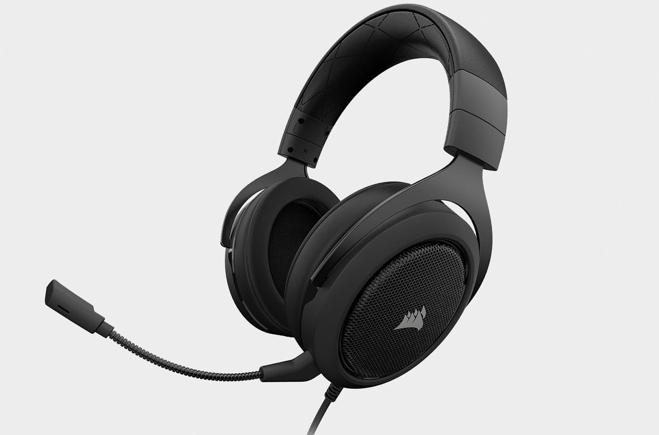 Corsair's 7 1-channel HS60 gaming headset is on sale for $40
