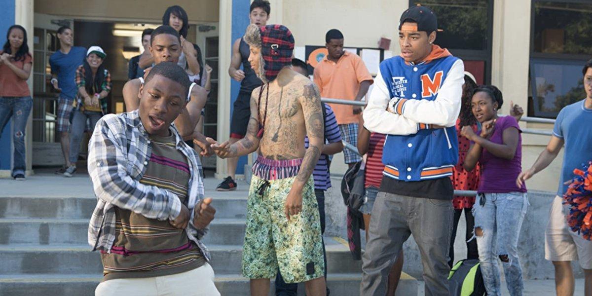 The cast of School Dance