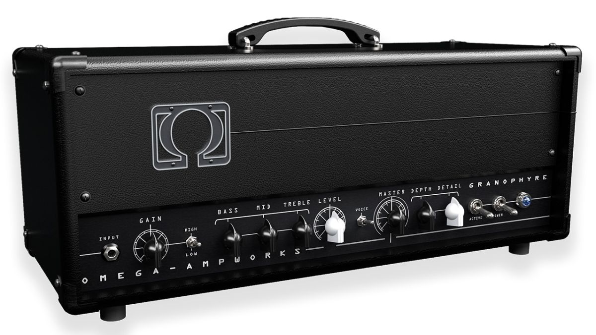 """Conjure tones ranging from """"dirty blues to crushing metal"""" with the new Omega Ampworks Granophyre plugin"""