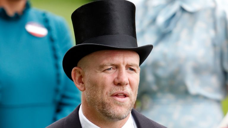 ASCOT, UNITED KINGDOM - JUNE 20: (EMBARGOED FOR PUBLICATION IN UK NEWSPAPERS UNTIL 24 HOURS AFTER CREATE DATE AND TIME) Mike Tindall attends day three, Ladies Day, of Royal Ascot at Ascot Racecourse on June 20, 2019 in Ascot, England. (Photo by Max Mumby/Indigo/Getty Images)