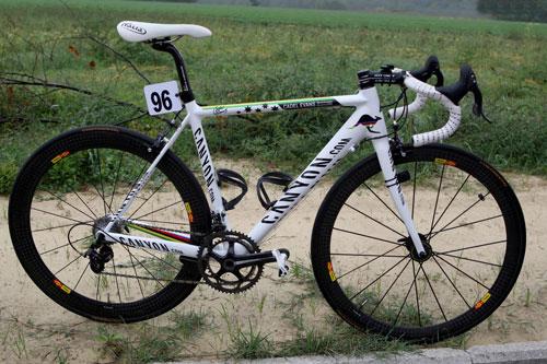 Cadel Evans bike, Coppa Sabatini 2009