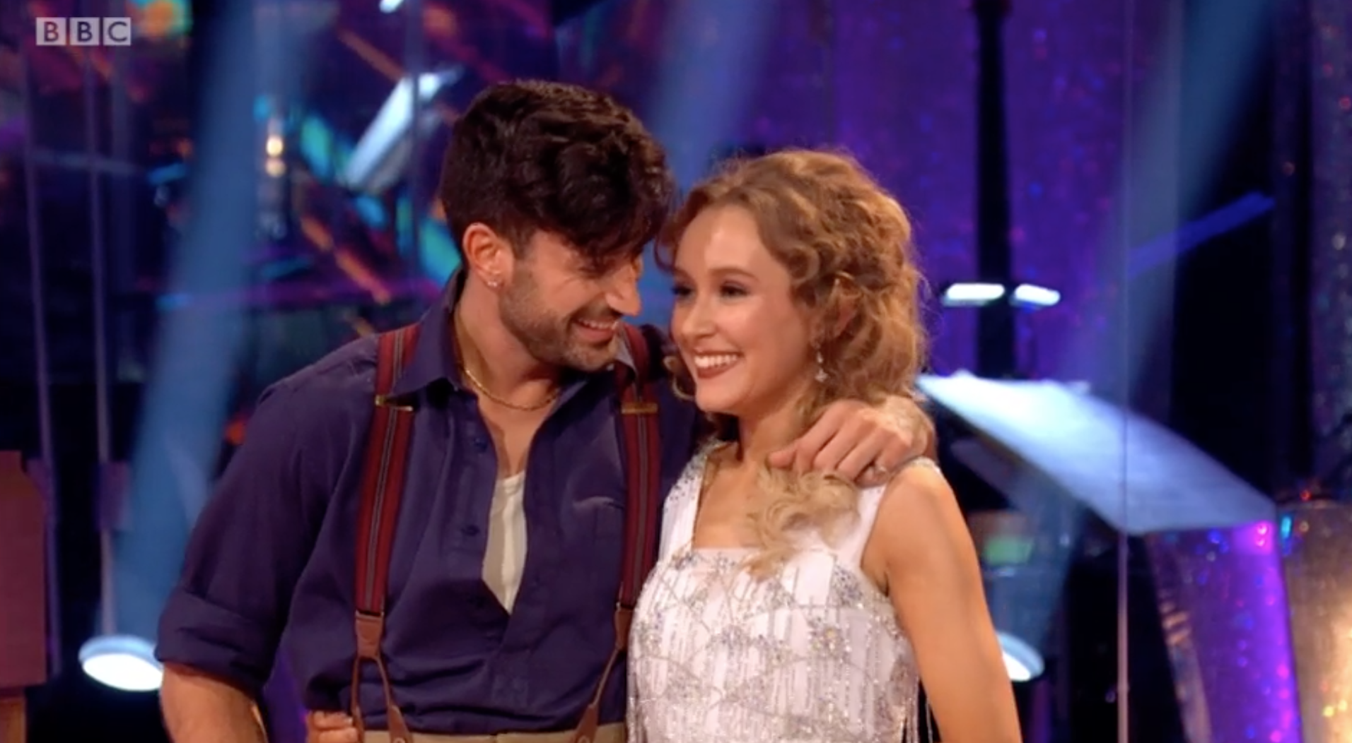 Rose y Giovanni en Strictly Come Dancing