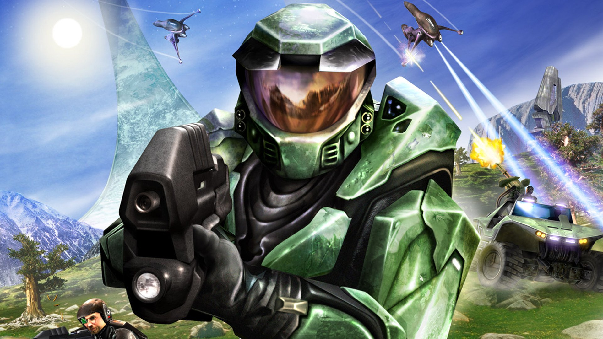 Halo composer Martin O'Donnell revealed  a Halo Wazzup spoof, in case you needed to feel ancient today