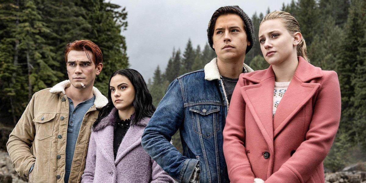 Some of the main cast of Riverdale.