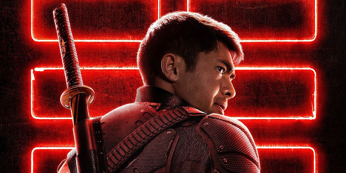 Henry Golding in Snake Eyes movie poster