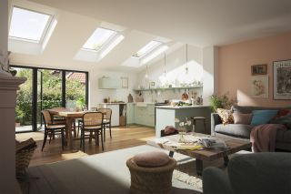 Bring the outside in with a VELUX roof window