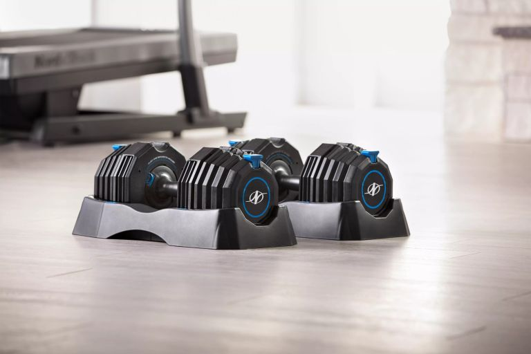 NordicTrack Select-A-Weight 55 Lb. Dumbbell Set Review