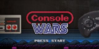 The Console Wars title card