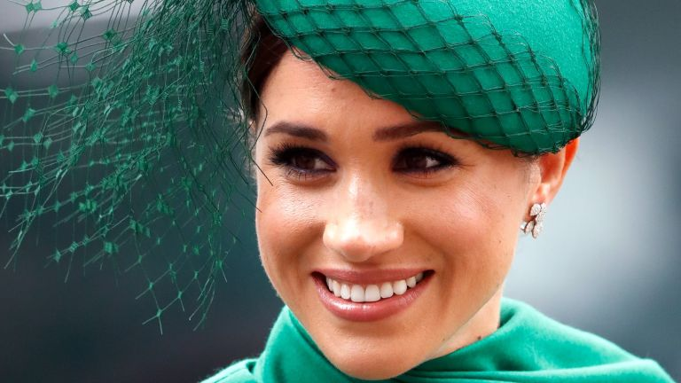 MARCH 09: (EMBARGOED FOR PUBLICATION IN UK NEWSPAPERS UNTIL 24 HOURS AFTER CREATE DATE AND TIME) Meghan, Duchess of Sussex attends the Commonwealth Day Service 2020 at Westminster Abbey on March 9, 2020 in London, England. The Commonwealth represents 2.4 billion people and 54 countries, working in collaboration towards shared economic, environmental, social and democratic goals.