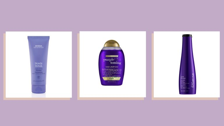 Three of the best purple shampoos