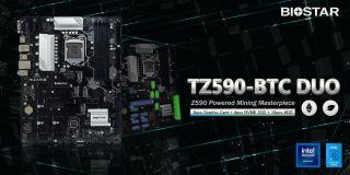 Biostar TZ590-BTC DUO Mining Motherboard