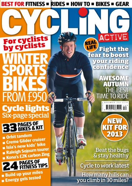 Cycling Active November 2012 issue