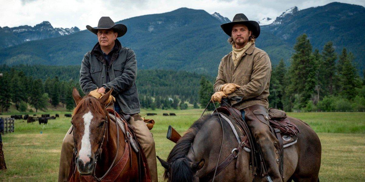 Kevin Costner, Luke Grimes - Yellowstone