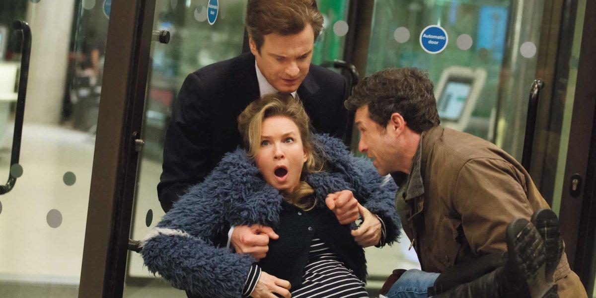 Colin Firth, Renee Zellweger, and Patrick Dempsey in Bridget Jones's Baby