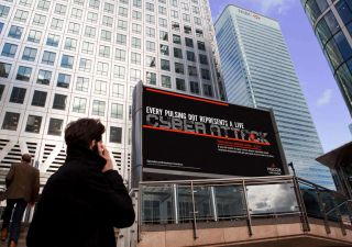 Hiscox Displays Real-Time Cyber Attacks in DOOH First