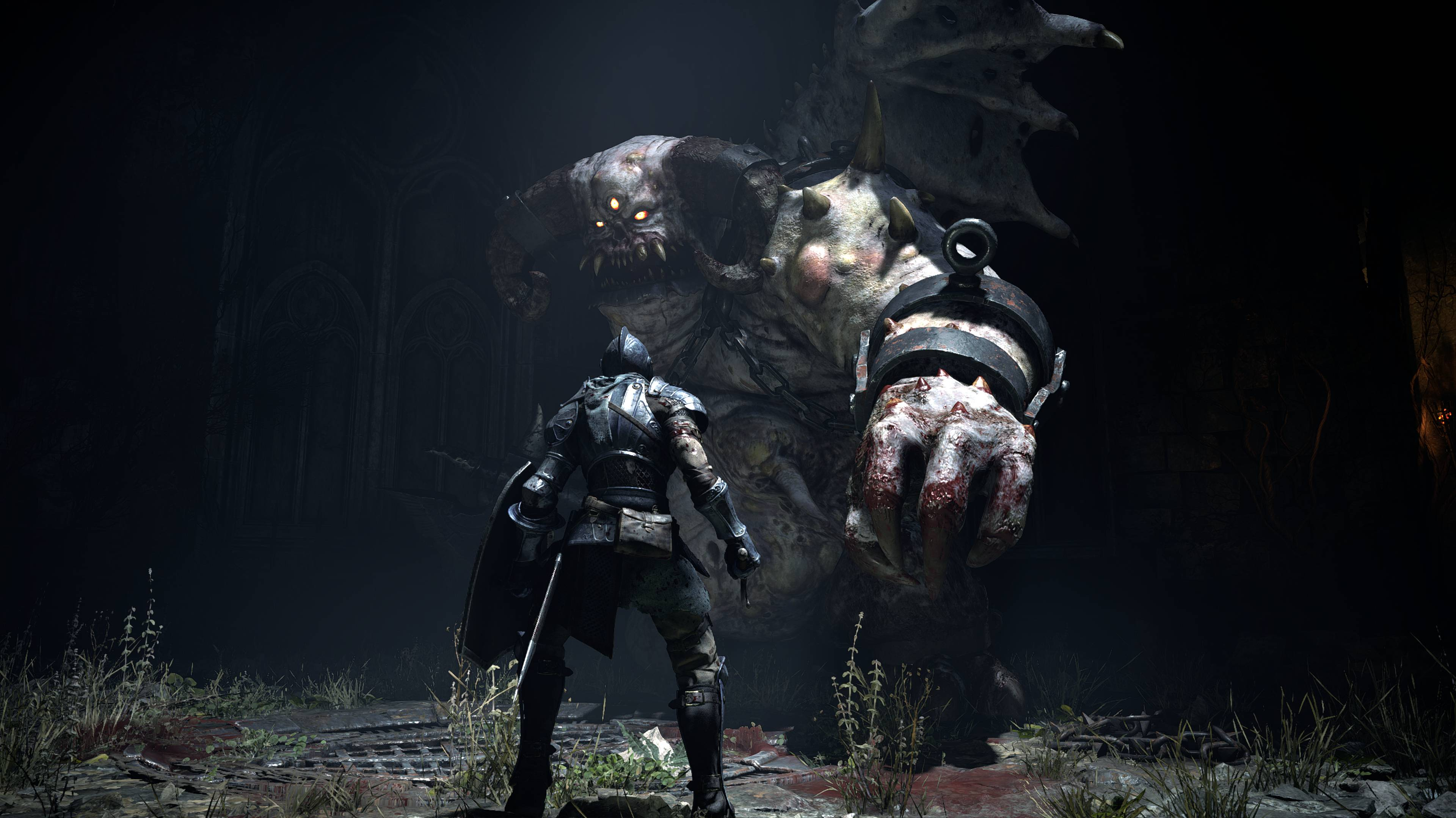 Demon's Souls boss fight