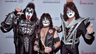Gene Simmons, Eric Singer and Tommy Thayer